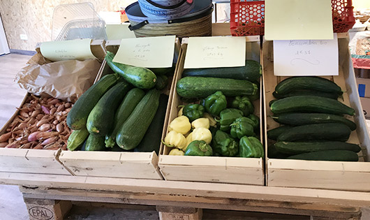 Magasin Fruits Legumes 1