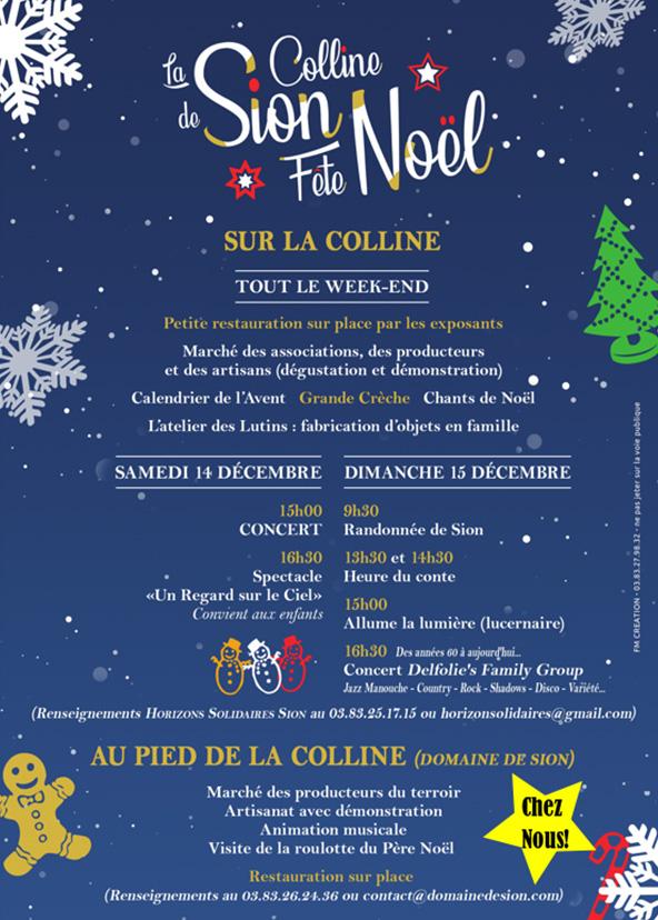 La Colline de Sion fête Noël 2019